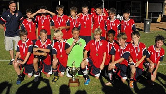 ECU under 12's win Concrete Alliance Cup