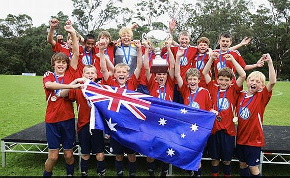 ECU JOONDALUP UNDER 12'S CHAMPIONS OF AUSTRALIA