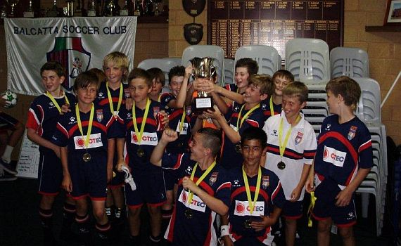 ECU Under 12's Win Balcatta Cup