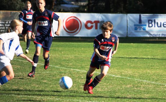 ECU Under 12′s Defeat League Leaders