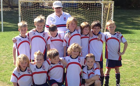 ECU Under 9's go through season undefeated