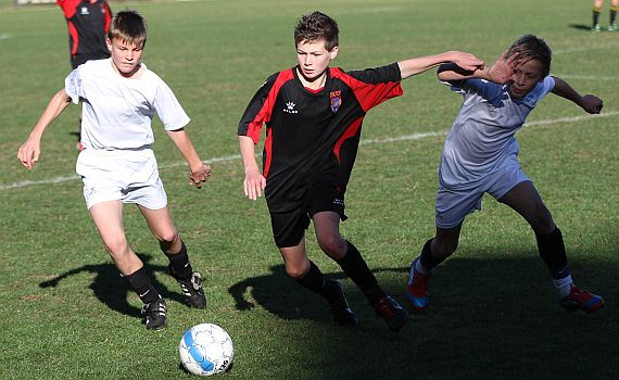 Under 13's Suffer Rare Home Defeat