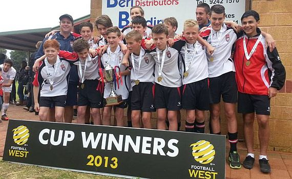 Cup triumph for ECU Juniors