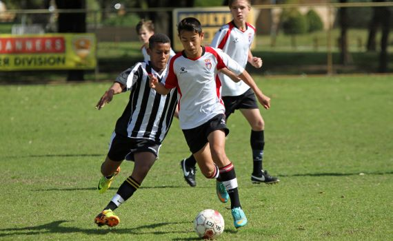 Late Strike Puts Under 13's Into Final