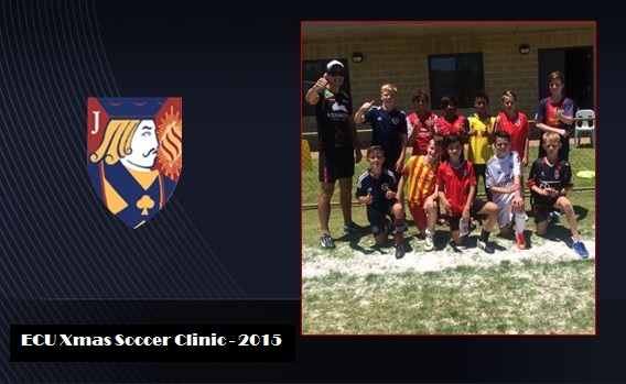 ECU Xmas Soccer Clinics a great success
