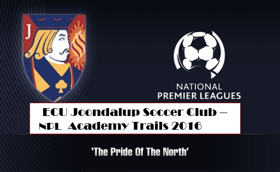 ECU Joondalup SC NPL Under 16's Trials