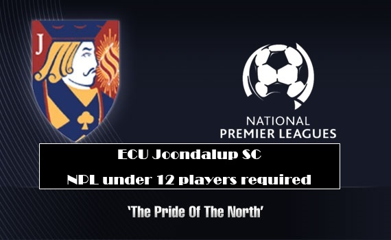 ECU Joondalup SC NPL under 12 players required