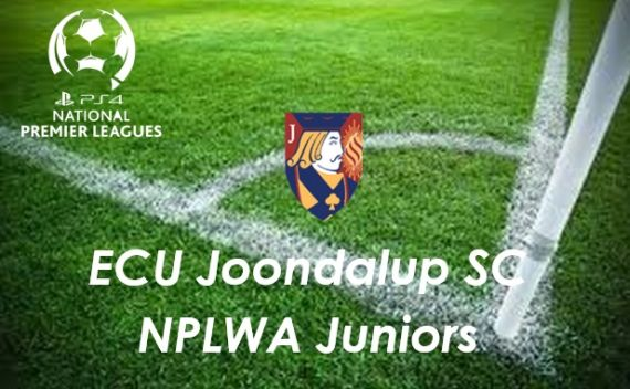 ECU Joondalup SC Junior PS4NPLWA Fixtures this weekend