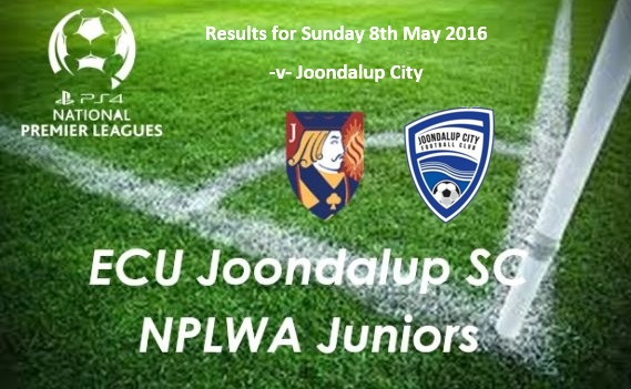 ECU Joondalup Junior PS4NPLWA Results Week Five