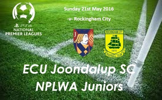 ECU Junior PS4NPLWA fixtures this weekend