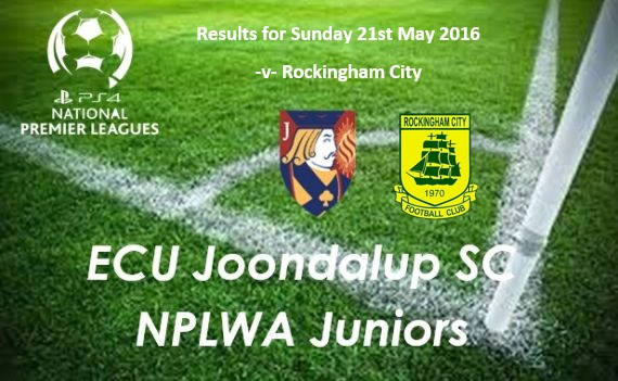 ECU Junior PS4NPLWA Results from Week Seven