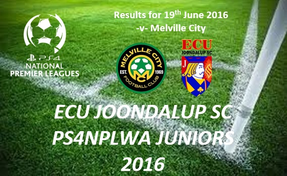 ECU – PS4NPLWA Junior Results – Week 11 v Melville City