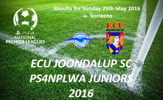 ECU Junior PS4NPLWA Results from Week Eight
