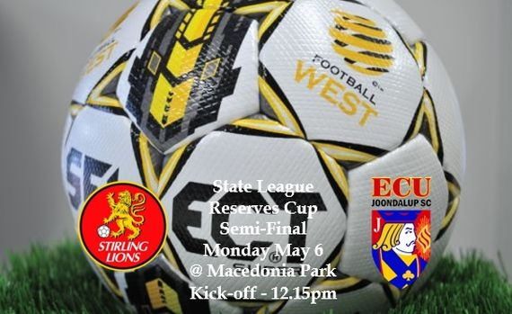 ECU Under 20's in Cup Semi-Final action on Monday