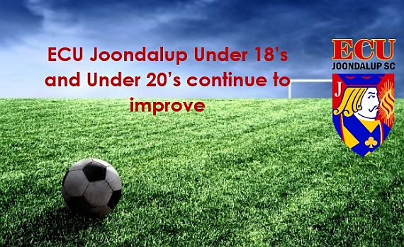 Under 18's and 20's continue to improve