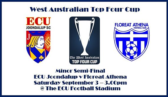 Jacks to meet Floreat Athena at home in Top Four Cup