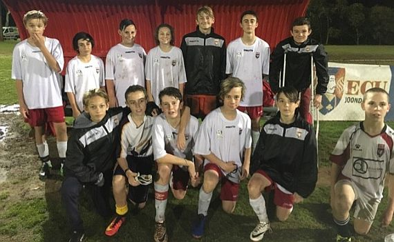 Jacks under 13's in Cup Final