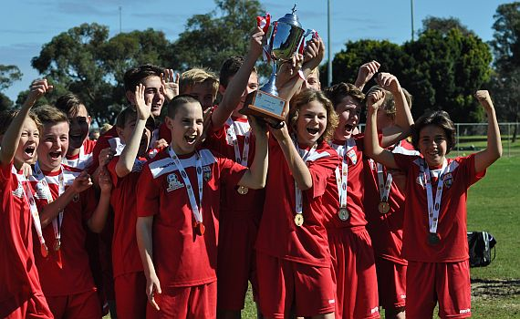 ECU under 13's win State League Cup Final