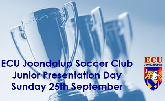 ECU Joondalup SC 2016 Junior Presentation Day