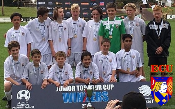 ECU Joondalup under 14's beat Sorrento to win Top Four Cup