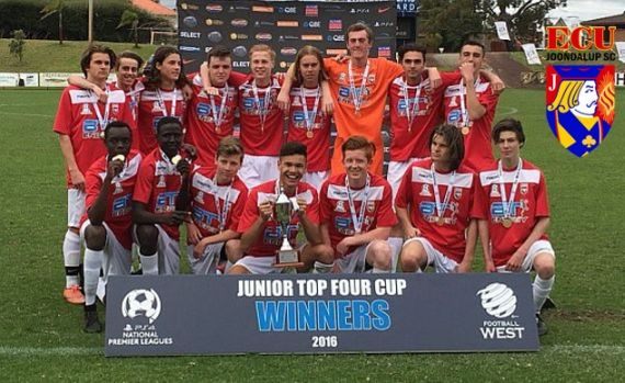 ECU Joondalup under 16's beat Subiaco to win Top Four Cup