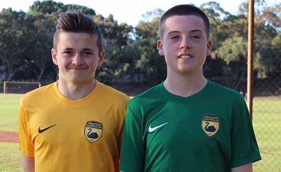 Jacks duo selected in WA under 14's Squad