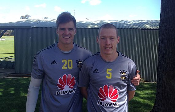 Former Jacks duo in action for Wellington Phoenix under 20's
