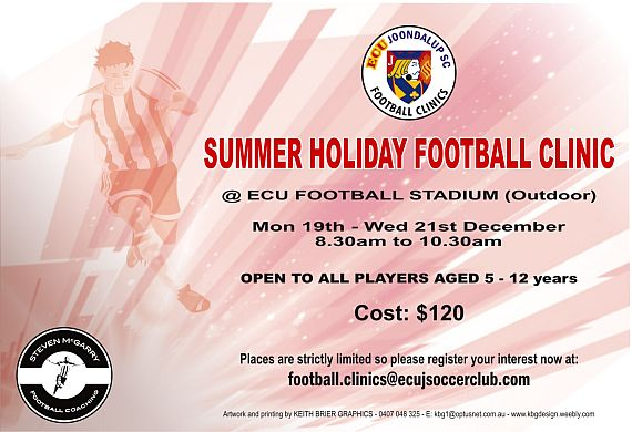 Summer Holiday Football Clinic 2016