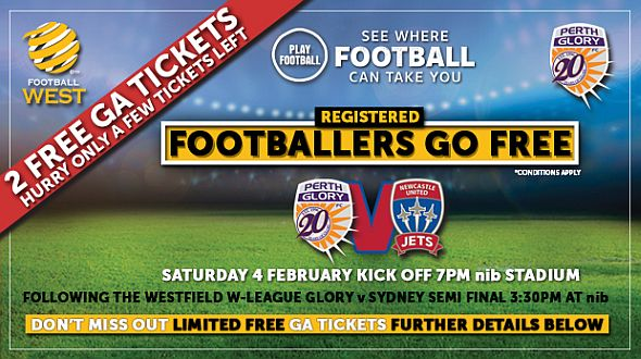 Get your tickets to watch Perth Glory