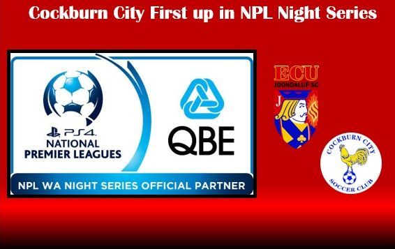 Cockburn City first up for Jacks in 2017 Night Series