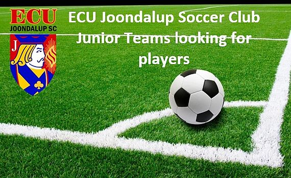 ECU Joondalup SC junior NPL sides have spots available for 2017
