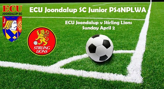 ECU Joondalup PS4NPLWA Junior in action on Sunday