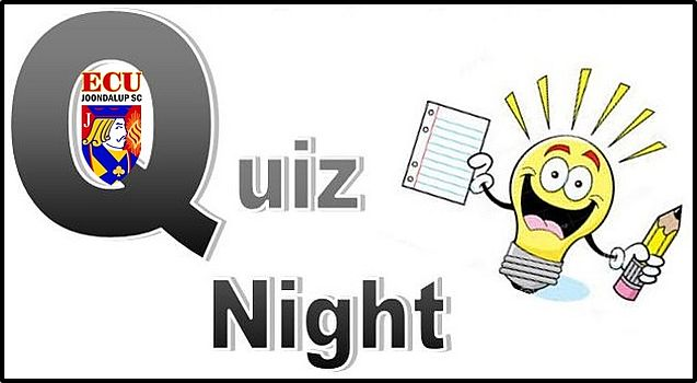 ECU Joondalup SC Quiz Night