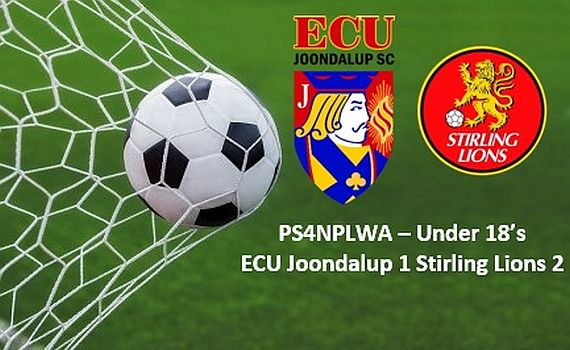 ECu Joondalup Under 18's go down to Stirling