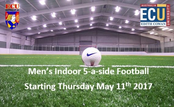 ECU Joondalup indoor 5-a-side kicks off on Thursday