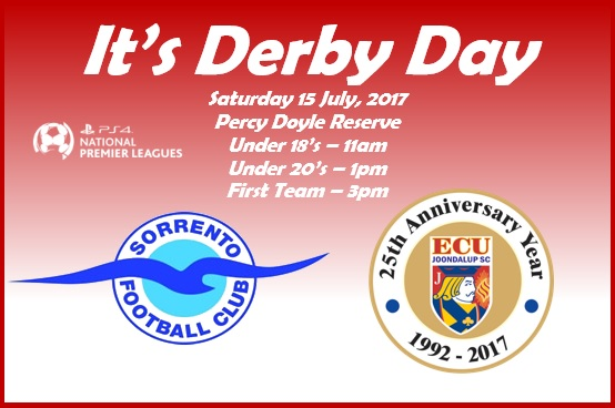 It's Derby day as Jacks travel to Sorrento