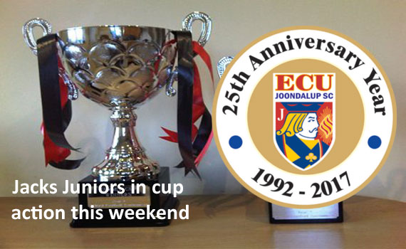 Jacks juniors in Cup action this weekend