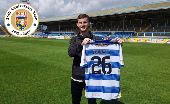 Iredale signs for Greenock Morton