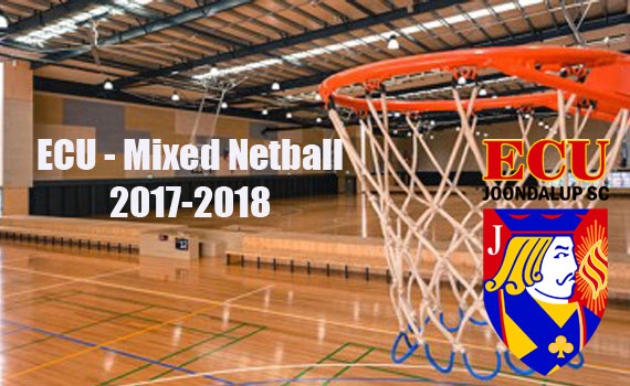 ECU Mixed Netball competition 2017-18