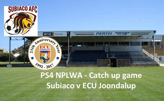 ECU match against Subiaco re-arranged