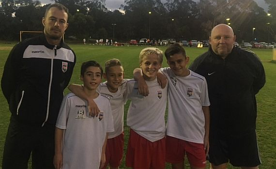 Jacks quartet selected in WA Schoolboys under 12's squad