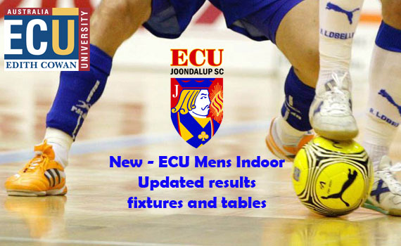 ECU Summer Indoor Football – Results and Fixture update