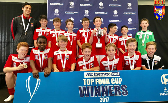 Jacks Under 12's win McInerney Ford Top Four Grand Final