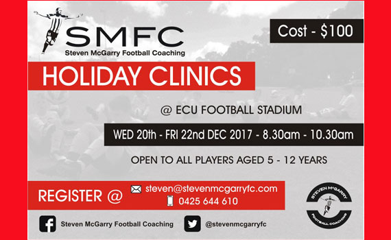 SMFC Soccer Holidays' Football Clinics are back