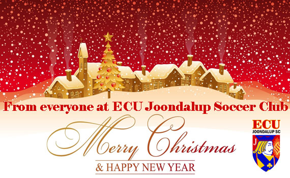 Merry Christmas from ECU Joondalup Soccer Club