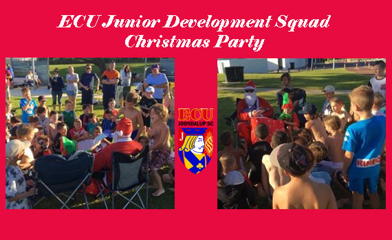 Jacks Juniors enjoy there Christmas party