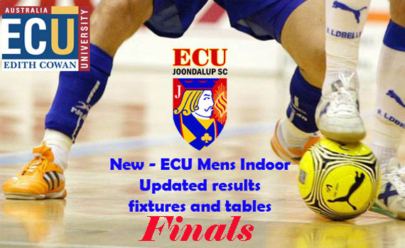 ECU Summer Indoor Football – Results and Finals Fixtures