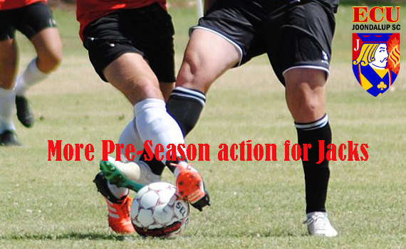 More Pre-season action for the Jacks