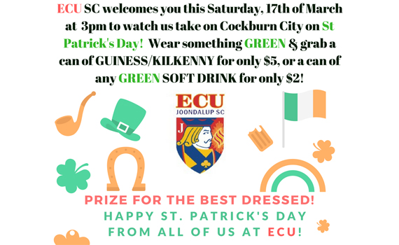 St Patrick's Day at the Campus