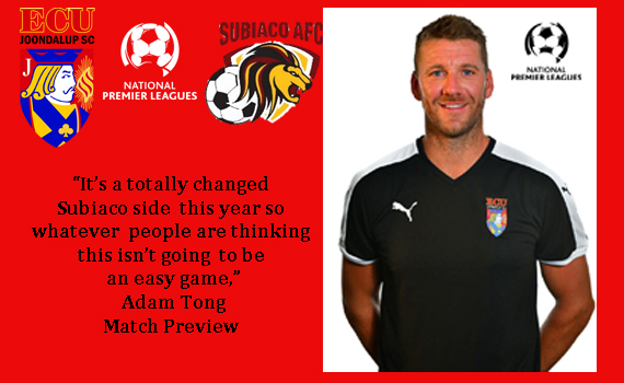 Jacks v Subiaco – Match Preview